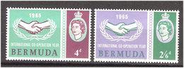Bermuda 1965 25 Years UN Mi 188-189, MH(*) - Bermuda