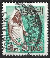 SOUDAN   1962  -  Y&T  148  - Récolte Du Coton - Oblitéré - Sudan (1954-...)