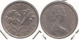 Bermuda 10 Cents 1970 KM17 - Used - Bermudes