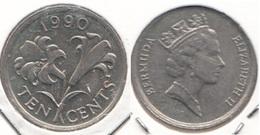 Bermuda 10 Cents 1990 KM46 - Used - Bermuda