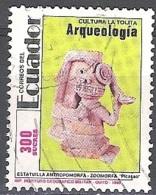 Ecuador 1991 Michel 2197 O Cote (2005) 0.70 Euro La Tolita Culture Cachet Rond - Equateur
