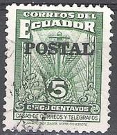 Ecuador 1950 Michel 735 O Cote (2005) 0.10 Euro Communications Cachet Rond - Equateur