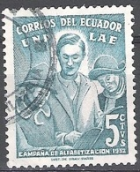 Ecuador 1953 Michel 803 O Cote (2005) 0.10 Euro Education Des Adultes Cachet Rond - Equateur