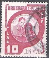 Ecuador 1953 Michel 804 O Cote (2005) 0.10 Euro Education Des Adultes Cachet Rond - Equateur