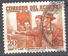 Ecuador 1953 Michel 805 O Cote (2005) 0.10 Euro Droits De Vote Cachet Rond - Equateur