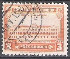 Ecuador 1944 Michel 541 O Cote (2005) 0.30 Euro Palais De Carondelet Cachet Rond - Equateur
