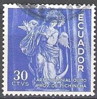 Ecuador 1959 Michel 1007 O Cote (2005) 0.20 Euro Vierge De Quito Cachet Rond - Equateur