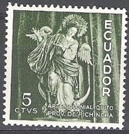 Ecuador 1959 Michel 1004 Neuf ** Cote (2005) 0.20 Euro Vierge De Quito - Equateur