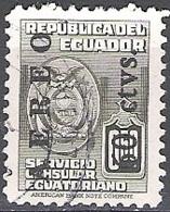 Ecuador 1950 Michel 734 O Cote (2005) 0.20 Euro Armoirie Cachet Rond - Ecuador