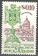 Ecuador 1952 Michel 767 O Cote (2005) 0.30 Euro Rome Basilique Saint-Pierre Cachet Rond - Equateur