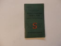 Fascicule De L'instruction De 60 Pages Sur L'usage Des Machines à Coudre Singer 15-88 Et 15-89 Singer. - Autres Collections