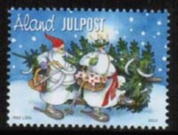 2010 Aland, Christmas Stamp MNH **. - Noël