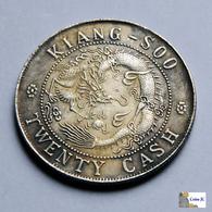 China - Kiangsoo  Province - 20 Cash - 1902 - FALSE - Imitazioni