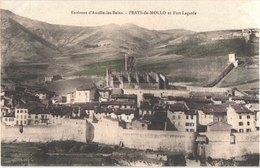 FR66 PRATS DE MOLLO - Xatard - Colorisée - Le Village Et Fort Lagarde - Belle - Autres Communes
