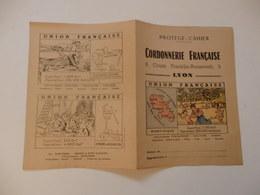 Protège-cahier Offert Par La Cordonnerie Française 8, Cours Franklin-Roosevelt à Lyon (69). - Unclassified