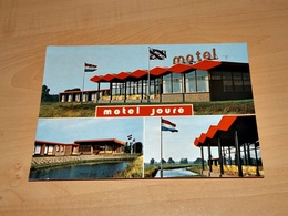 Ansichtskarte-25865-126-motel Joure-aan De Rotonde Postbus--ungelaufen- - Niederlande
