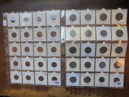 BELGIQUE 106 MONNAIES DE LEOPOLD 1er à LEOPOLD III. - Coins & Banknotes
