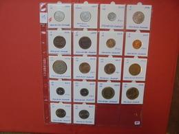 RWANDA LOT 18 MONNAIES DE QUALITE ! - Coins & Banknotes