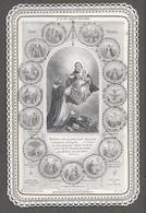 Image Pieuse, CANIVET XIXème - N.D DU SAINT ROSAIRE. Planche N°12 Ch.Letaille,Paris - Imágenes Religiosas