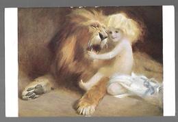 Salon De Paris.(Lion)  Tadé STYKA. La Bonté , Chose Invincible. - Lions