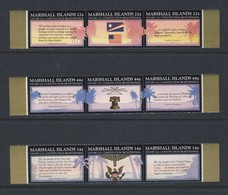 MARSHALL 1987   CONSTITUTION   YVERT N°147/55  NEUF MNH** - Islas Marshall