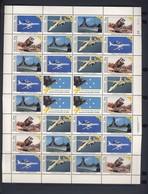 MICRONESIE  1991 FEUILLET  TEMPETE DU DESERT YVERT N°168/71 NEUF MNH** - Micronésie