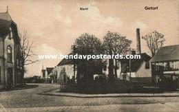 GETTORF, Markt, Straßenszene (1910s) AK - Gettorf