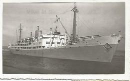 Leopoldville Bateau  Photo Carte ( Postée En Angola 1951 - Angola