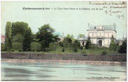 49 CHALONNES-sur-LOIRE - La Tour Saint-Pierre Et Le Chateau, Vue De Face - Chalonnes Sur Loire