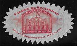 Pérou - Vignette De Sécurité - Pérou