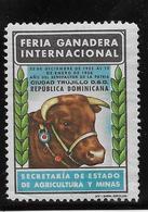 Dominicaine - Vignette Feria Ganadera Internacional - Dominicaine (République)