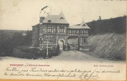 Op 378: BORGOUMONT - L'Entrée Du Sanatorium Edit. Dethine > Liège 1906 Via LA GLEIZE  E11 - Autres