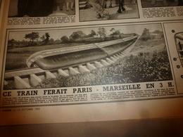 1952 RADAR:Paris-Marseille En 3H;La Chenille Déraille à Bordeaux;Donzere-Mondragon;Catastrophe Sibylle;Lait De Tigre;etc - Zeitungen