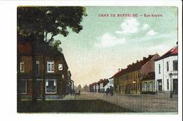 CPA Carte Postale BELGIQUE - Camp De Beverloo - Rue Royale- S 2603 - Beringen