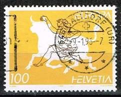 Schweiz 1995, Michel# 1553 O  Europa - Oblitérés
