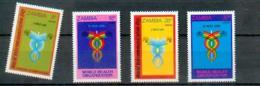 Sambia - MICHEL Nr. 245/248 Postfrisch / ** / Mnh  [U6-SAM6] - Zambia (1965-...)