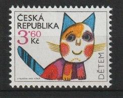 MiNr. 78 - 79 Tschechische Republik: 1995, 1. Juni. Weltkindertag. - Tschechische Republik