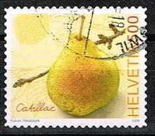 Schweiz 2008, Michel# 2078 O Catillac Pear - Switzerland