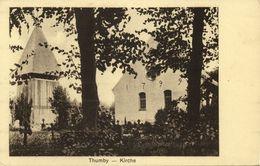 Schnarup-THUMBY, Kirche St. Johannes (1910s) AK - Allemagne