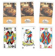Jeu De Cartes 32 Cartes à Jouer Le MOULIN D'ARIUS De CASTELNAUDARY Carte Publicité Cassoulet Moulin à Café Ail - 32 Kaarten