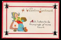 VALENTINE SENTIMENT  - KINDEREN  RELIEF GAUFREE - Saint-Valentin