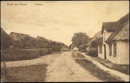 KLEVE, Dithmarschen, Westen, Straßenszene (1910s) AK - Allemagne