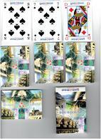 Etui En Carton - Jeu De Cartes 32 Cartes à Jouer Carte Publicité - Banque CREDIT MUTUEL - Bourgogne Champagne - 32 Cartes