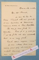 L.A.S 1906 MAXIME LERY à Son Cher Formont - Paris-Bagatelle - La Revue - Lettre Autographe LAS - Rue D'Hauteville - Autographes