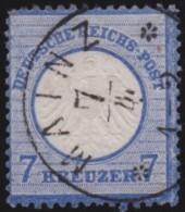 Deutsches Reich   .    Michel     .    10         .    O      .   Gebraucht - Oblitérés