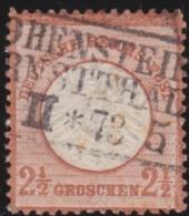 Deutsches Reich   .    Michel     .    21        .    O      .   Gebraucht - Oblitérés