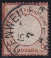 Deutsches Reich   .    Michel     .    27         .    O      .   Gebraucht - Alemania