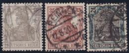 Deutsches Reich   .    Michel     .     102/104       .         O      .   Gebraucht - Deutschland