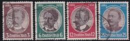 Deutsches Reich   .    Michel     .  540/543         .    O      .   Gebraucht - Allemagne