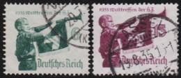 Deutsches Reich   .    Michel     .    564/565       .    O      .   Gebraucht - Deutschland